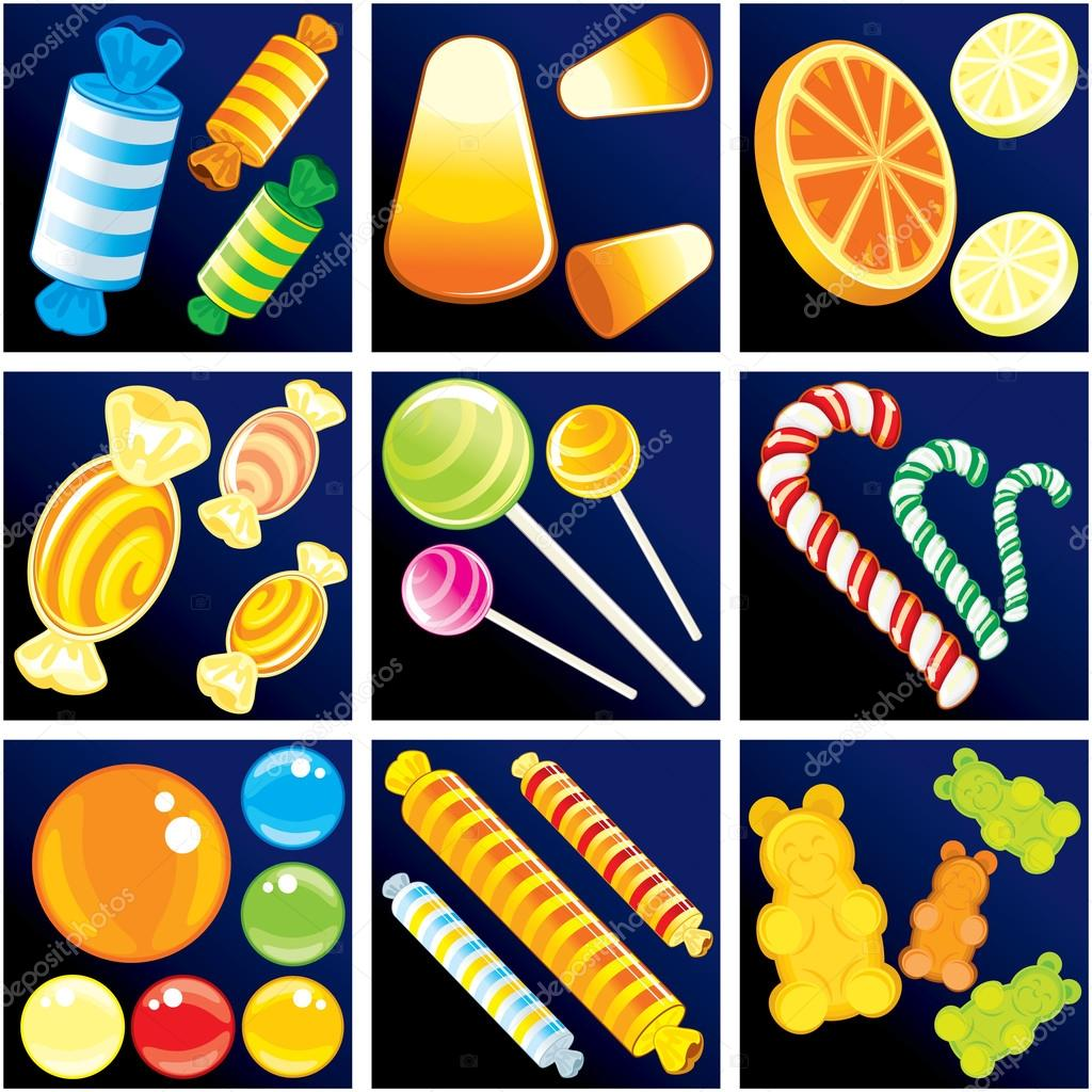 depositphotos 8440207 stock illustration sweet goodies